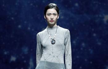 Creations by Deng Zhaoping presented at China Fashion Week