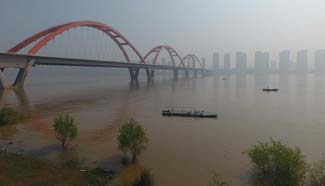 Central China's Hunan enters flood season