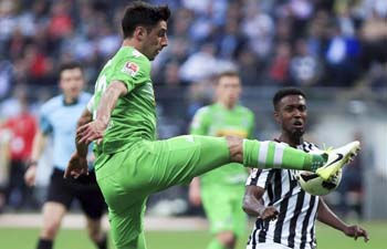 Bundesliga Match: Borussia Moenchengladbach vs. Eintracht Frankfurt