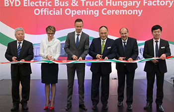 BYD opens first European electric bus factory in Hungary