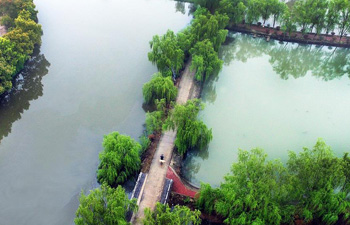 Spring scenery in east China's Anhui