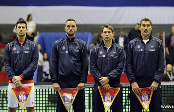 Davis Cup quarterfinal: Serbia vs. Spain