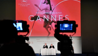 Cannes Festival announces 2017 selection of competing films