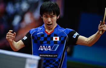 Japan's Niwa Koki advances to semifinal at Asian Table Tennis championships