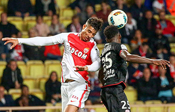 AS Monaco beats Dijon 2-1 at Ligue 1 match