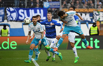 Darmstadt beat Schalke 2-1 in Bundesliga match