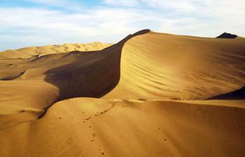 In pics: Mingsha Mountain in Dunhuang, N China's Gansu