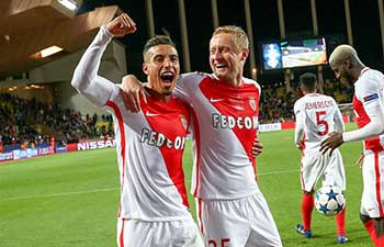 AS Monaco advances to semifinal at UEFA Champions League