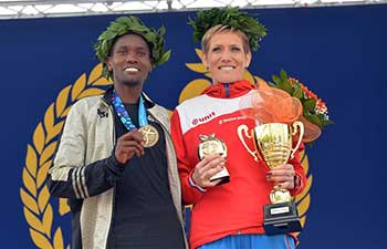 Kenyan and Serbian runners triumph at 30th Belgrade Marathon