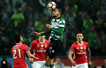 Sporting CP tie SL Benfica 1-1 at Portuguese league