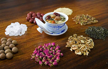 Eight Treasures Tea made in NW China's Ningxia
