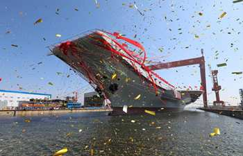 China launches 2nd aircraft carrier