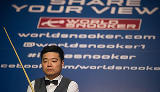First session of semifinal match: Ding vs. Selby
