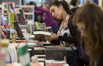 People visit 43rd Buenos Aires Int'l Book Fair