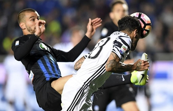 Juventus draw 2-2 with Atalanta during Serie A soccer match in Bergamo