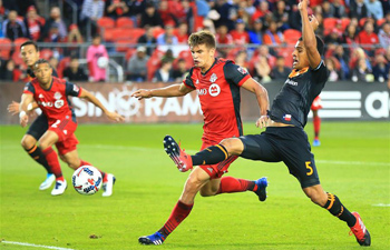 2017 MLS match: Toronto FC beats Houston Dynamo 2-0