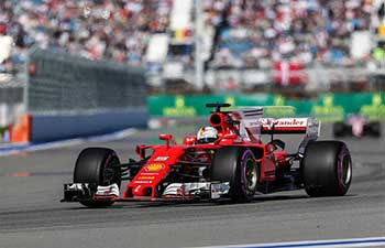 Vettel wins at qualifying session of Formula One Russian Grand Prix