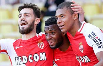 Monaco fight back to beat Toulouse, Bastia labor through Rennes in Ligue 1