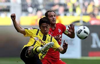 Borussia Dortmund draw 0-0 with 1.FC Cologne in Bundesliga match