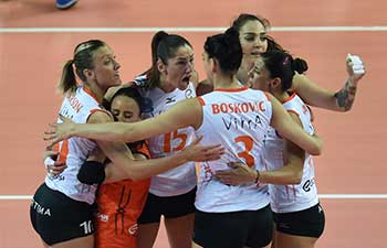 Vakifbank beat Eczacibasi 3-1 at Turkish Women Volleyball League Playoff match