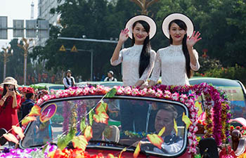 Annual twins festival celebrated in southwest China's Yunnan