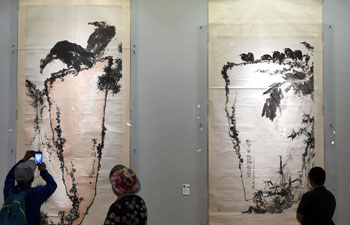 Exhibition held in Beijing to commemorate Chinese artist Pan Tianshou