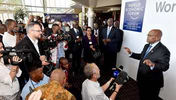 Opening plenary of World Economic Forum on Africa held in Durban