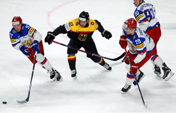 2017 IIHF Ice Hockey World Championship: Germany vs. Russia