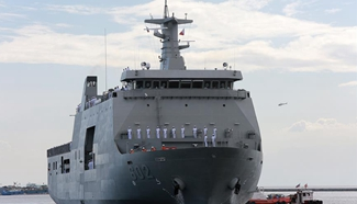Philippine Navy commissions 2nd amphibious landing dock vessel