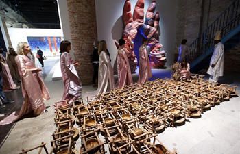 57th Art Biennale attracts visitors in Venice