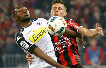 French Ligue 1: SCO Angers beat OGC Nice 2-0
