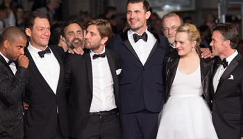 "Screening of film ""The Square"" held at Cannes Int'l Film Festival"
