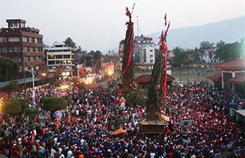 Rato Machhendranath Festival celebrated in Lalitpur, Nepal