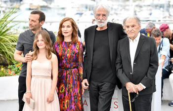 "Photocall of film ""Happy End"" at 70th Cannes Film Festival"