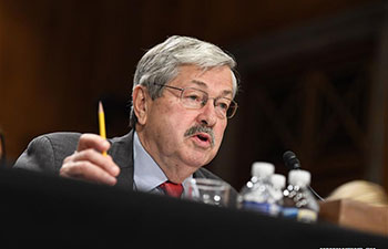 Iowa Governor Branstad confirmed as U.S. Ambassador to China