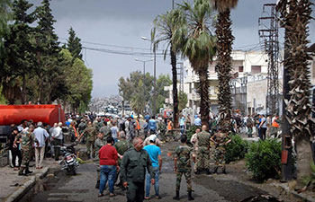 3 killed in car bomb attack in Syria's Homs
