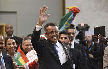 Ethiopia's Adhanom elected as new WHO chief