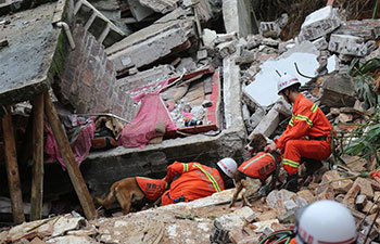 Two dead in south China's house collapse