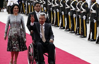 Lenin Moreno sworn in as president of Ecuador for 2017-2021 term