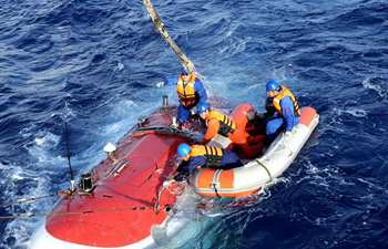 Jiaolong conducts 2nd dive in 3rd stage of China's 38th oceanic expedition