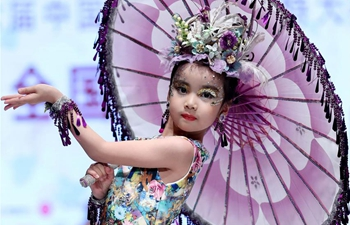 Children's model contest held in Qingdao