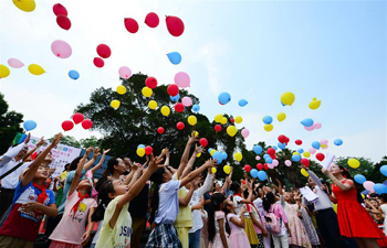 Various activities held across China to mark upcoming Int'l Children's Day
