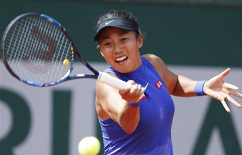 China's Zhang Shuai beats Donna Vekic 2-0 at 2017 French Open