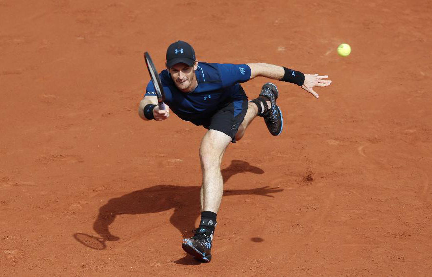Andy Murray defeats Andrey Kuznetsov 3-1 at French Open