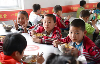 Nutrition improvement projects in NW China benefit 2.3 mln students