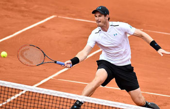 Murray, Nishikori advance to 3rd round at French Open