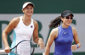 Highlights of women's doubles at French Open Tennis Tournament 2017