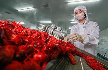 Annual output value of crayfish surpasses 1.47 billion USD in China