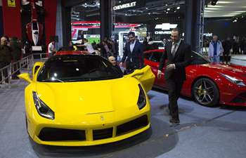 8th Int'l Motor Show held in Buenos Aires