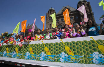 Toronto International Dragon Boat Race Festival held in Canada